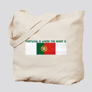PORTUGAL IS WHERE THE HEART I Tote Bag