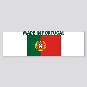 MADE IN PORTUGAL Bumper Sticker