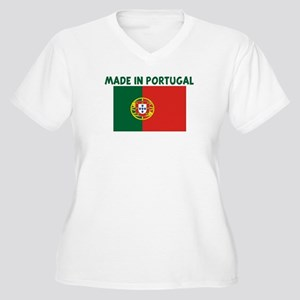 MADE IN PORTUGAL Women's Plus Size V-Neck T-Shirt