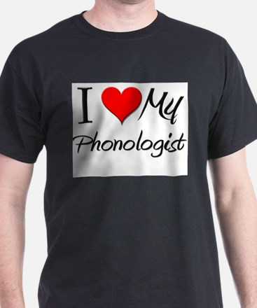 I Heart My Phonologist T-Shirt