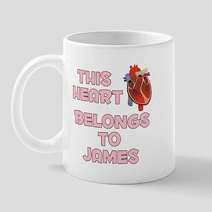 This Heart: James (C) Mug