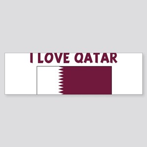 I LOVE QATAR Bumper Sticker
