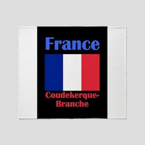 Coudekerque-Branche France Throw Blanket