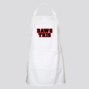 Original DAWG THIS! BBQ Apron