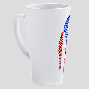 Puerto Rico 17 oz Latte Mug