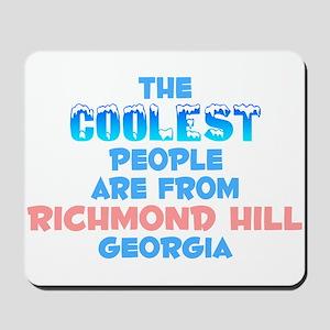 Coolest: Richmond Hill, GA Mousepad