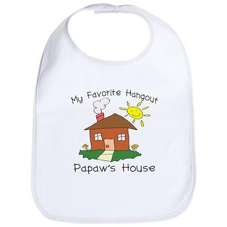 Favorite Hangout Papaw's Hous Bib
