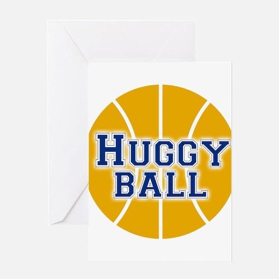 Huggy Ball Greeting Card