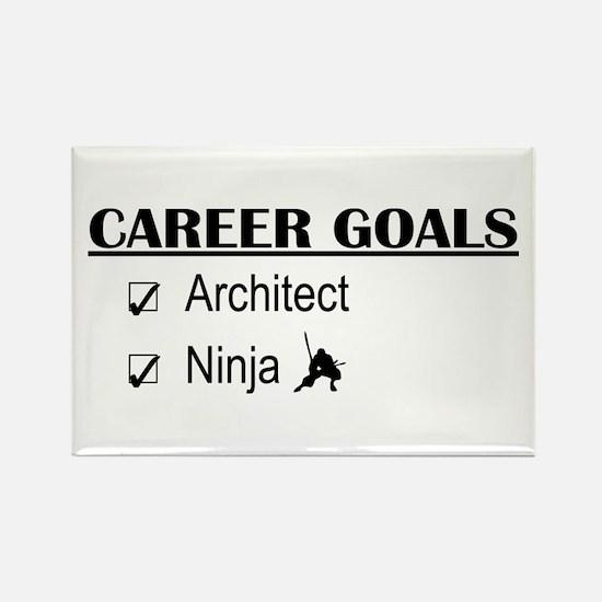 Architect Career Goals Rectangle Magnet