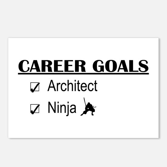 Architect Career Goals Postcards (Package of 8)