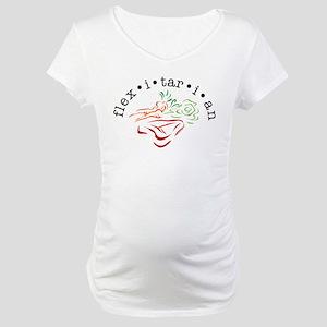 Flexitarian Maternity T-Shirt