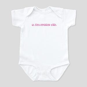 El Salvadoran Girl Infant Bodysuit