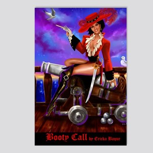 Booty Call Postcards (Package of 8)