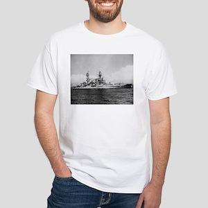 USS Pennsylvania Ship's Image White T-Shirt