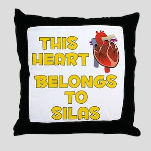 This Heart: Silas (A) Throw Pillow