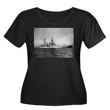 USS Pennsylvania Ship's Image Women's Plus Size Sc