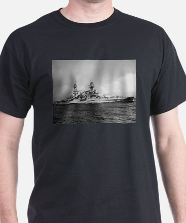 USS Pennsylvania Ship's Image T-Shirt