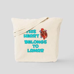 This Heart: Lamar (B) Tote Bag