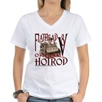 FLATHEAD V8 Women's V-Neck T-Shirt