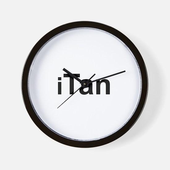 iTan Wall Clock