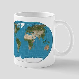 Map of Earth Mugs