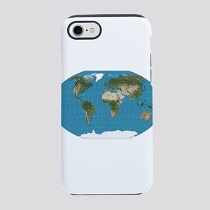 Map of Earth iPhone 8/7 Tough Case