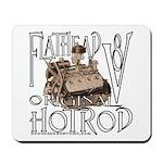 FLATHEAD V8 WHITE Mousepad