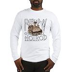 FLATHEAD V8 WHITE Long Sleeve T-Shirt