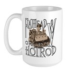 FLATHEAD V8 WHITE Large Mug
