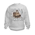 FLATHEAD V8 WHITE Kids Sweatshirt