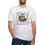 FLATHEAD V8 WHITE Fitted T-Shirt
