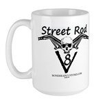 STREETROD V8 Large Mug