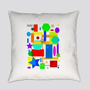 Color is art 2 Everyday Pillow
