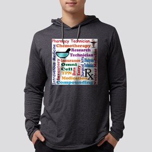 Pharmacy tech meds 8 Long Sleeve T-Shirt