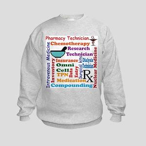 Pharmacy tech meds 8 Sweatshirt