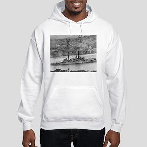 USS Arizona Ship's Image Hooded Sweatshirt