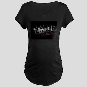 Circle Maternity Dark T-Shirt
