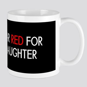 Red Ribbon: Red for my Daughter Mug