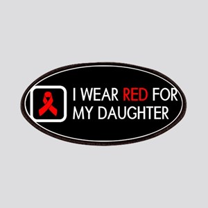 Red Ribbon: Red for my Daughter Patch