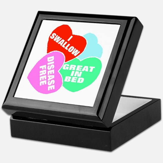 NAUGHTY HEARTS Keepsake Box