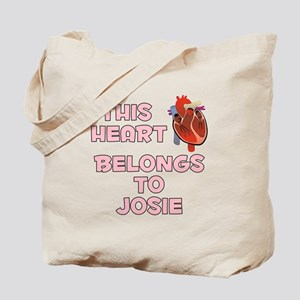 This Heart: Josie (C) Tote Bag