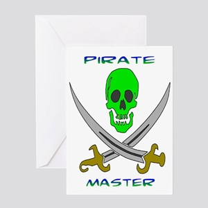Pirate Master Greeting Card