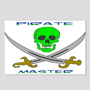 Pirate Master Postcards (Package of 8)