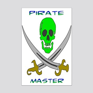 Pirate Master Mini Poster Print