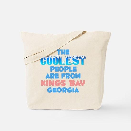 Coolest: Kings Bay, GA Tote Bag