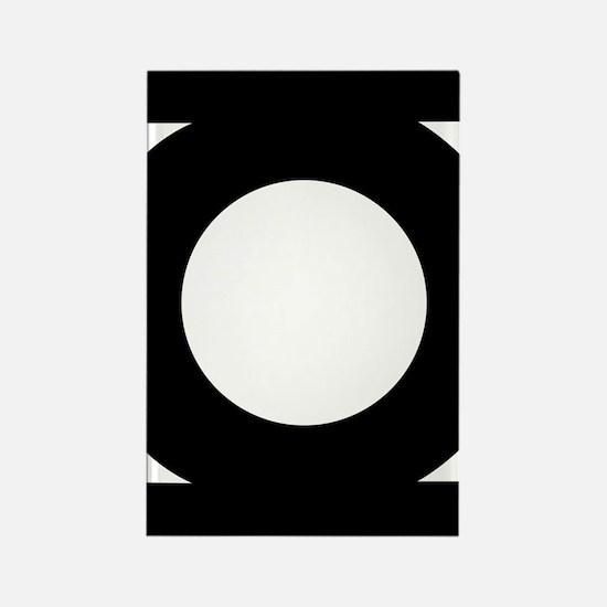 Green lantern Rectangle Magnet