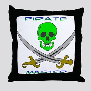 Pirate Master Throw Pillow