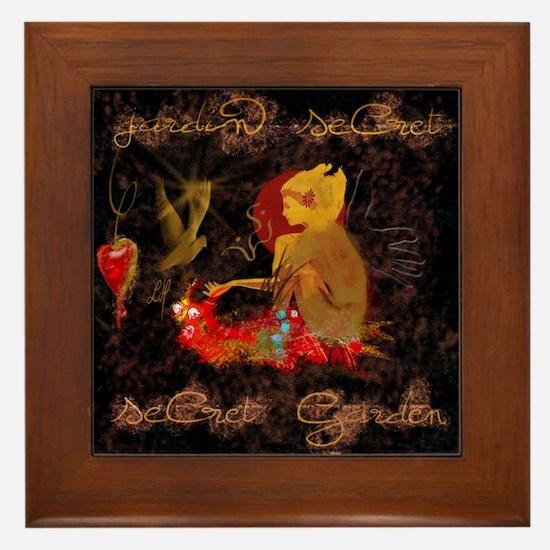 """""""Secret Garden"""" Framed Tile"""