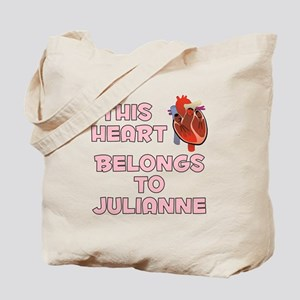 This Heart: Julianne (C) Tote Bag