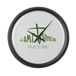 A Place Set Apart Large Wall Clock